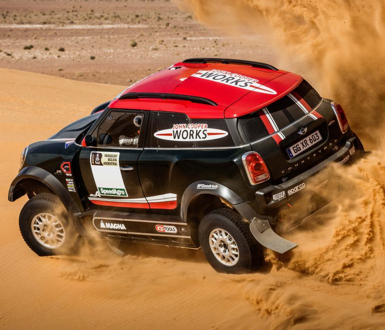 X-raid MINI John Cooper Works Rally – Rallye Dakar