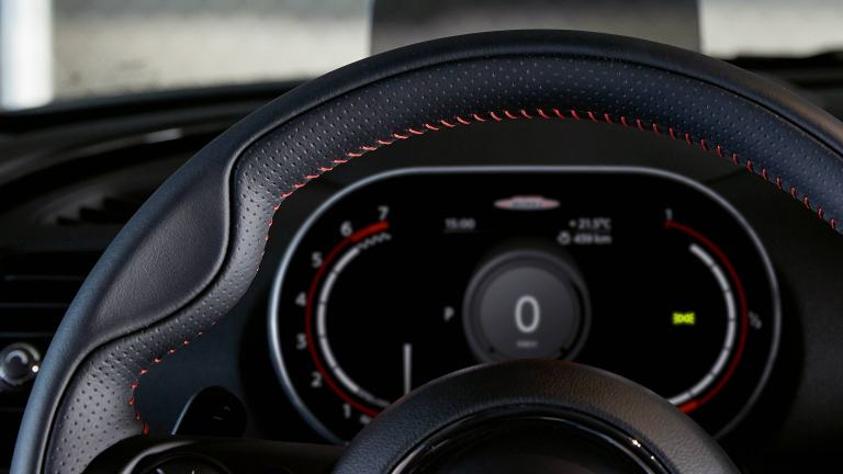 MINI John Cooper Works – digital insturment cluster – instrument display