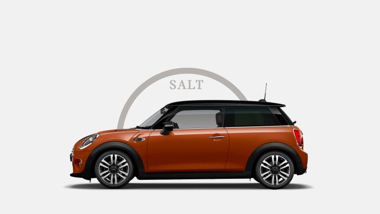 MINI 3-door Hatch – side view – salt trim level
